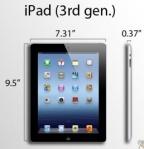 2012: iPad (3rd generation)