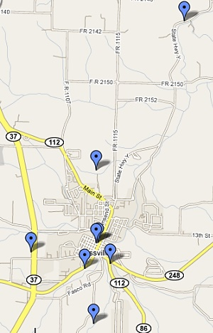 Cassville Locations