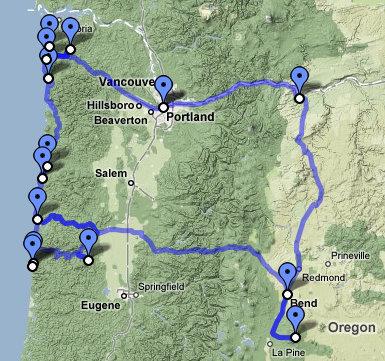 Oregon Trip 2009