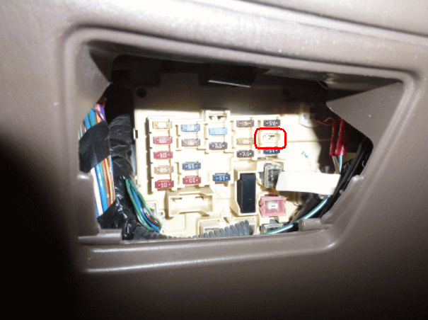 Fuse Removed on 2006 toyota corolla fuse box diagram