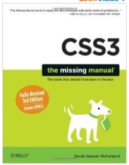 I recommend this book for learning CSS