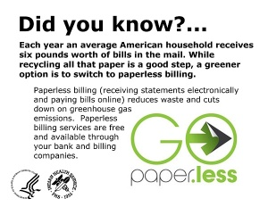 The ecological argument for paperless billing