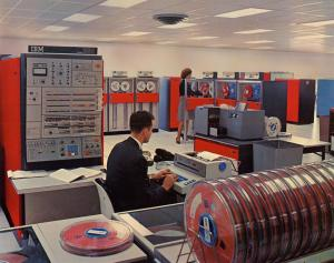 The IBM System/360 Mainframe from the 1960s