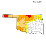 Oklahoma Drought Map, 5/5/2015