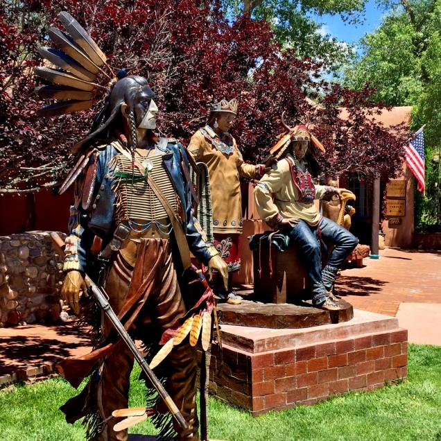 Natives adorned in NASA-developed paint