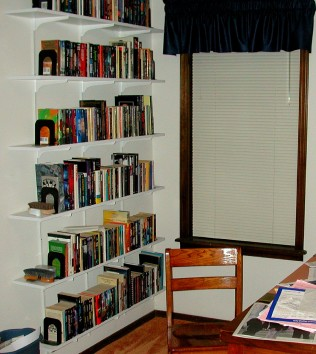 Part of my science fiction collection in 2001