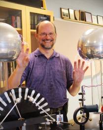 With the Van de Graaff generators in 2013