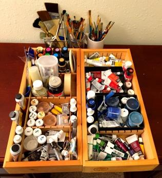 Paint boxes