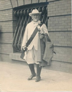 Henry Pittock in his Royal Rosarian outfit in 1916