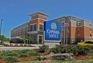 Our favorite hotel in OKC began as a Cambria Suites