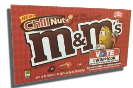 Wendy loved Chili Nut M&Ms