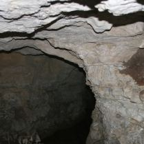 Inside radium mine